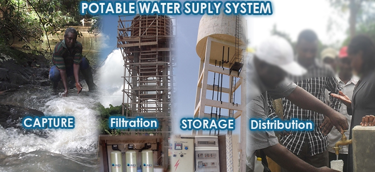 POTABLE WATER SUPLY SYSTEM